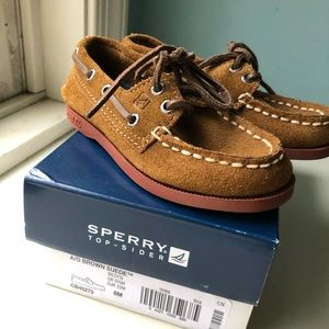 Sperry Top-Sider brown suede